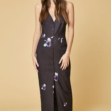 Oh My Love Button Down Cami Midi Dress at PacSun.com