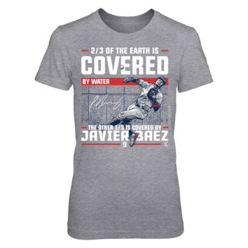 Covered By - Javier Baez - T-Shirt - Officially Licensed Fashion Sports Apparel
