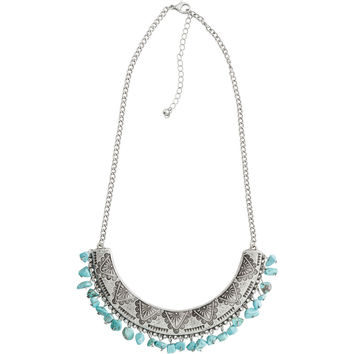 ZAD TURQUOISE CHIP NECKLACE