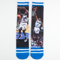 Stance Shaq/Penny Socks Green Combo One Size For Men 23896054901