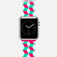 Cubes color Apple Watch Band case by WAMDESIGN | Casetify
