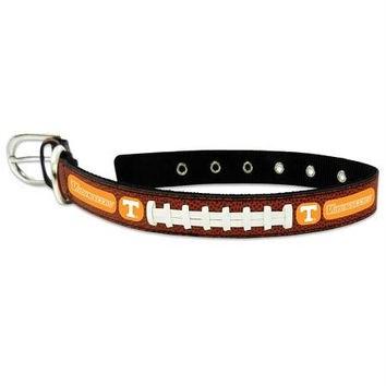 Tennessee Volunteers Classic Leather Medium Football Collar