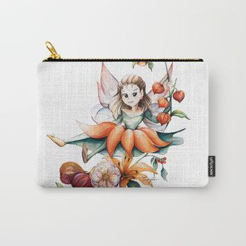 Autumn Fairy Carry-All Pouch by CW Studio