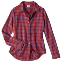 Mossimo Supply Co. Junior's Long Sleeve Button Down Shirt - Assorted Colors