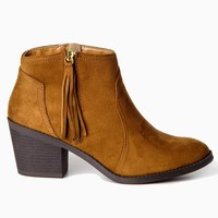 Tan-Suede-Fringe-Zip-Ankle-Boot