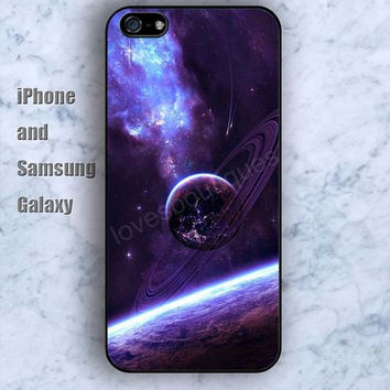 Solar system planets iPhone 5/5S case Ipod Silicone plastic Phone cover Waterproof