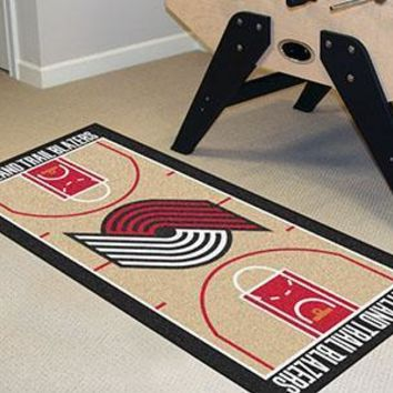 NBA -  Portland Trail Blazers NBA Court Runner Mat 24x44
