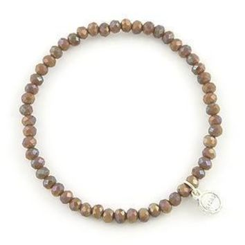 Knoxville Warm Brown Sparkle Bracelet