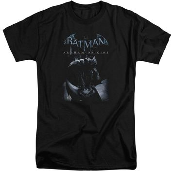 Batman Arkham Origins - Perched Cat Short Sleeve Adult Tall