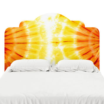 Attractive Amber Headboard Decal