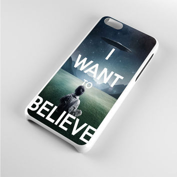 i want to believe iPhone 5c Case