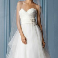 Texture Organza Gown by WTOO Brides
