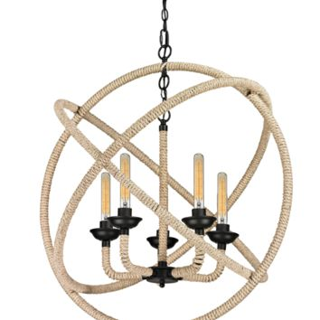Pearce 5 LIght Chandelier