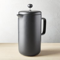 roast matte black french press