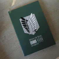 Attack On Titan Note Book Cool 18 * 12.5 cm Blank Pages