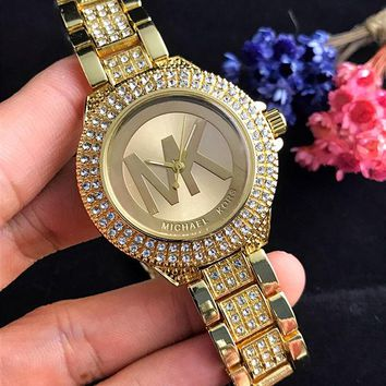Perfect MK Fashion Diamonds Business Watches Wrist Watch