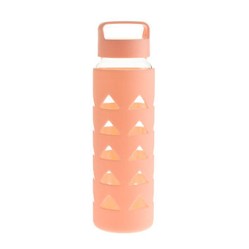 J.Crew Womens Water Bottle With Silicone Sleeve