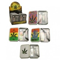 Smokers Gift Set - Stash Tin, Metal Pipe and Screens - Gifts - Grasscity.com