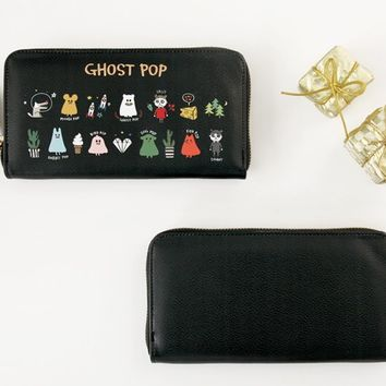 Medium Ghost Pop Wallet