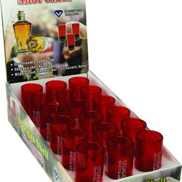 12 Gauge Shotgun Shell Shot Glass - Case of 18