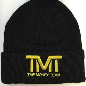 Perfect The Money Team Hip Hop Women Men Beanies Winter Knit Hat Cap