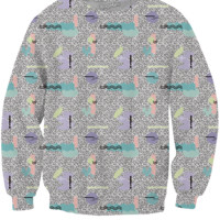 Synthesizer Crewneck Sweatshirt