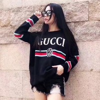 GUCCI Fashion Casual Long Sleeve Sweater Pullover Sweatshirt