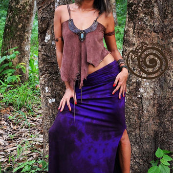 Long Tie dye Gypsy Fairy Tribal Skirt