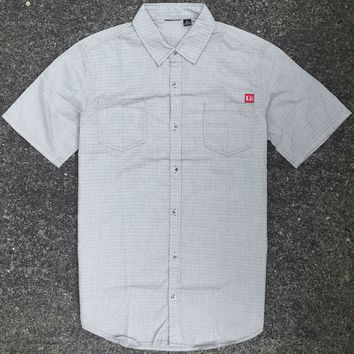 Withrow Woven Top Grey