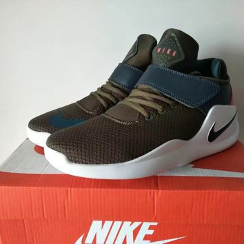 """Nike"" Unisex Sport Casual Coconut High Help Basketball Sneakers Couple Running Shoes"