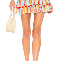 Lovers + Friends Alicia Skirt in Boardwalk Stripe