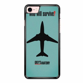 Greys Anatomy Who Will Survive iPhone 7 Case
