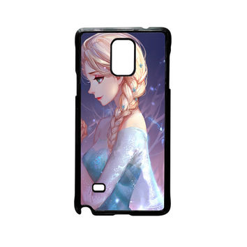 Disney Frozen Sisters Anna and Elsa Best Friend Couple For Samsung Galaxy Note 2/Note 3/Note 4/Note 5/Note Edge Phone case ZG