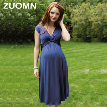 Summer Dresses For Pregnant Women Maternity Dresses Pregnancy Clothes For Pregnant Women Moms Party Maternity Clothes YL648