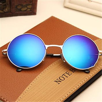 Classic Round Sunglasses Men Women Small Vintage Retro Glasses Women Driving Metal Eyewear Sun Glasses For Men Womens UV400