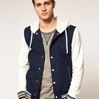 Blue/White Varsity Jacket