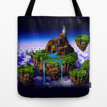 Floating Kingdom of ZEAL - Chrono Trigger Tote Bag by likelikes