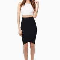 Cut And Edit Midi Skirt $30