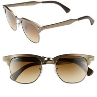 Women's Ray-Ban 'Clubmaster' 49mm Sunglasses