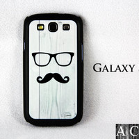 Mustache Samsung Galaxy S3 Hard Cover Case