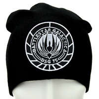 Battlestar Galactica BSG 75 Beanie Alternative Clothing Knit Cap