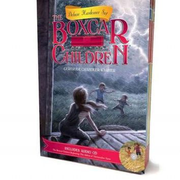 The Boxcar Children Deluxe Hardcover Boxed Gift Set (The Boxcar Children Mysteries)