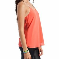 flowy racerback top $23.00 in MINT OFFWHITE PEACH RUST - Sleeveless | GoJane.com