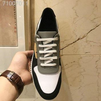 Fendi Men Casual Shoes fashionable casual leather Sneakers Shoes DCCK