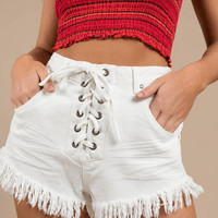 somedays lovin Shimmering Bays Denim Shorts