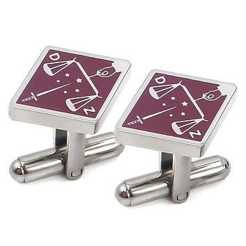 Princes of Jerusalem Diamond Cufflinks