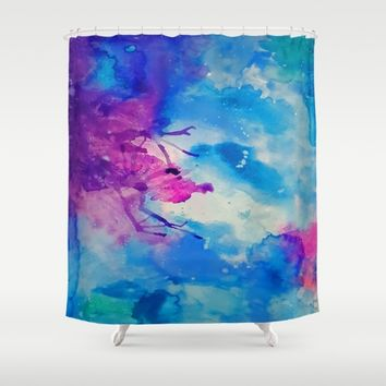 Emanate Shower Curtain by DuckyB
