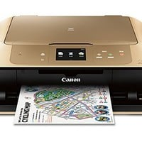 Canon MG7720 Wireless All-In-One Printer with Scanner and Copier: Mobile and Tablet Printing, with AirprintTM  and Google Cloud Print compatible, Gold