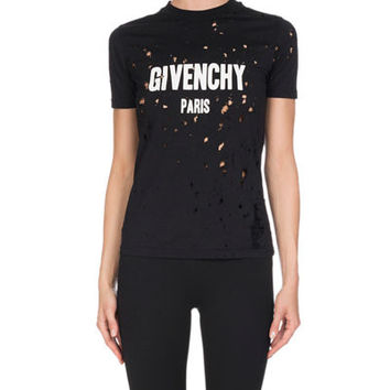 Givenchy Five-Pocket Jersey Leggings, Black and Matching Items