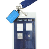 Doctor Who Keep Calm Lanyard